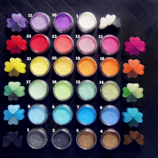Pearl Mica Pigment Powder - #21 Yellow - 1