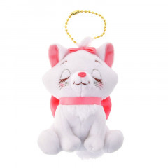 Japan Disney Key Ball Chain Plush - Aristocats Marie Cat
