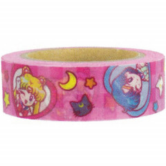 Sailor Moon Japanese Washi Paper Masking Tape - Pink