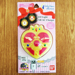 Sailor Moon LED Light USB AC Charger - Cosmic Heart Compact