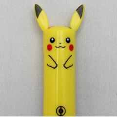 Japan Pokemon Two Color Mimi Pen - Pikachu