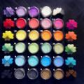 Pearl Mica Pigment Powder - Set of 23 colors - 1
