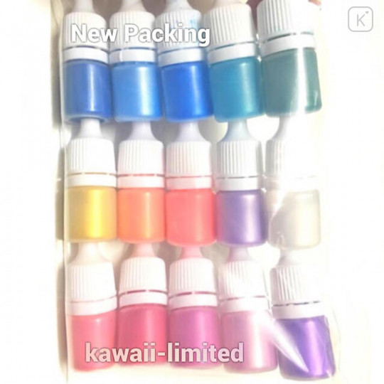 Pearl Mica Pigment Powder - Set of 23 colors - 2