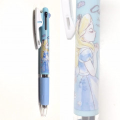 Japan Disney Jetstream 3 Color Multi Pen - Alice in the Wonderland Blue