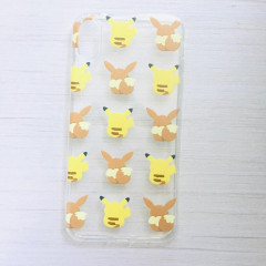 Pokemon Pikachu & Eevee Transparent Phone Case