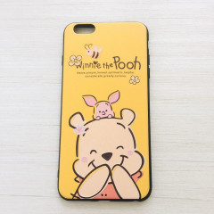 Smile Winnie the Pooh & Piglet Deep Yellow Phone Case