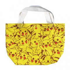 Japan Pokemon Cotton Tote Bag - Pikachu
