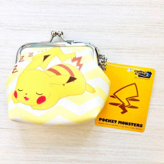 Japan Pokemon Coin Purse Wallet - Sleeping Pikachu