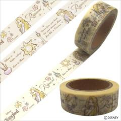 Japan Disney Washi Paper Masking Tape - Princess Tangled Rapunzel