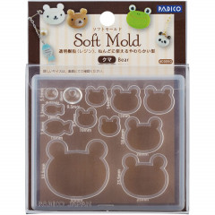 Japan Padico Clay & UV Resin Soft Mold - Bear