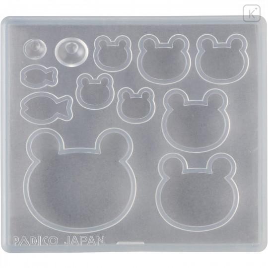 Japan Padico Clay & UV Resin Soft Mold - Bear - 2