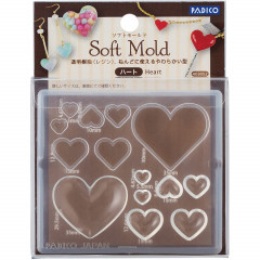 Japan Padico Clay & UV Resin Soft Mold - Heart