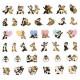 Japan Disney Sticker - Chip & Dale Petit Seal
