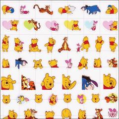 Japan Disney Petit Seal Sticker - Winnie the Pooh