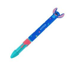 Japan Disney Two Color Mimi Pen - Stitch Space