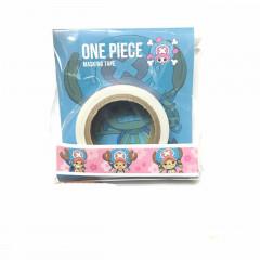 Japan One Piece Washi Paper Masking Tape - TonyTony. Chopper