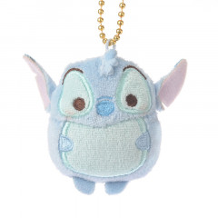 Japan Disney Ufufy Key Chain Stuffed Toy - Stitch