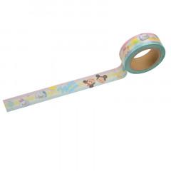 Disney - Japanese Washi Paper Masking Tape - Tsum Tsum Character Border