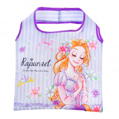 Japan Disney Eco Shopping Bag - Princess Rapunzel Diamond Purple