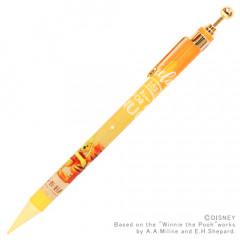 Japan Disney Wooden Mechanical Pencil - Hug N Happy Winnie the Pooh & Tigger