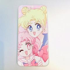Happy Sailor Moon & Chibi Moon Phone Case - iPhone 7 & iPhone 8
