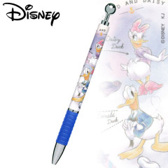 Japan Disney Mechanical Pencil - Donald Duck & Daisy Duck