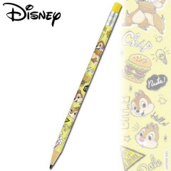 Japan Disney Mechanical Pencil - Chip & Dale Hamburger