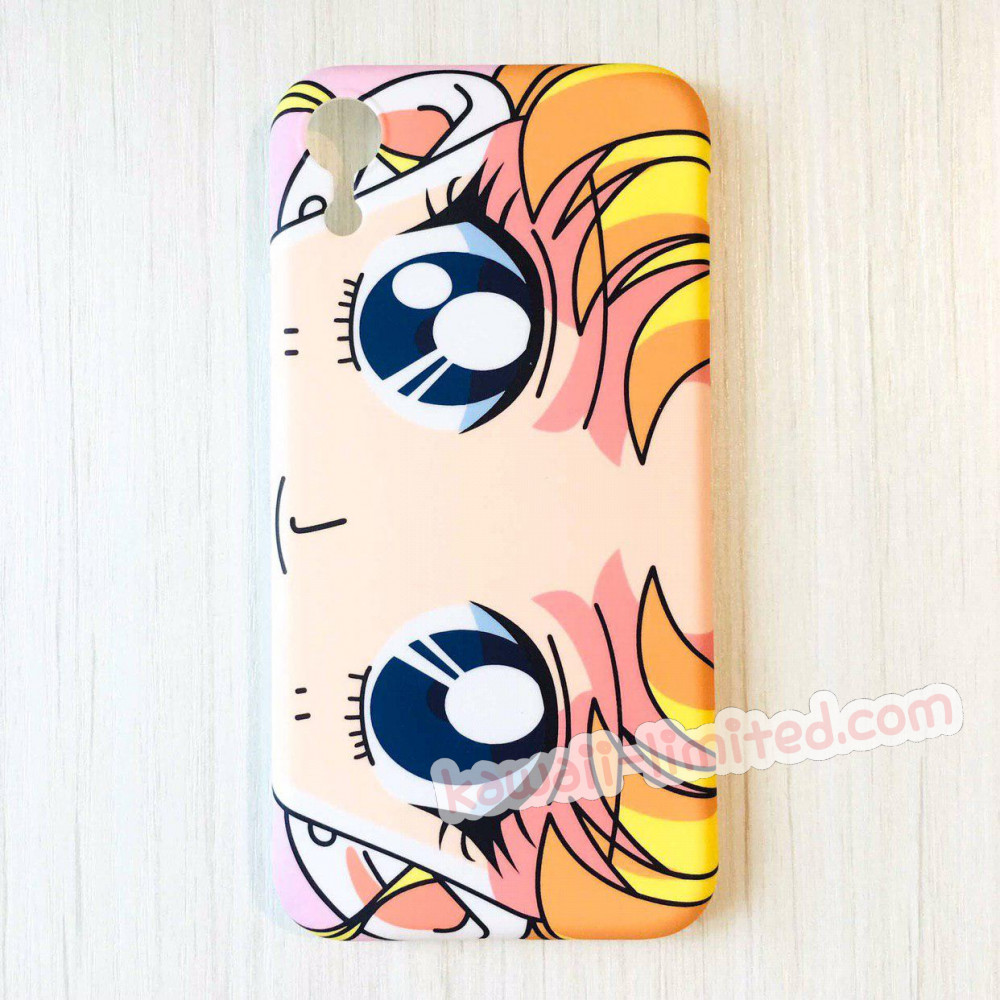 wholesale dealer 39926 a19a6 Sailor Moon Face Eye Phone Case - iPhone 7 Plus & iPhone 8 Plus