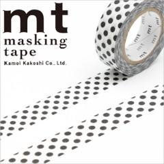 Japan MT Washi Masking Tape - Dot Black