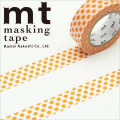 Japan MT Washi Masking Tape - Dot Mandarin