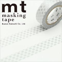 Japan MT Washi Masking Tape - Dot Silver
