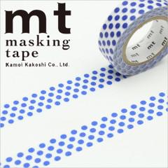 Japan MT Washi Masking Tape - Dot Night Blue