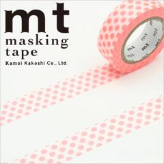 Japan MT Washi Masking Tape - Dot Sharp Pink