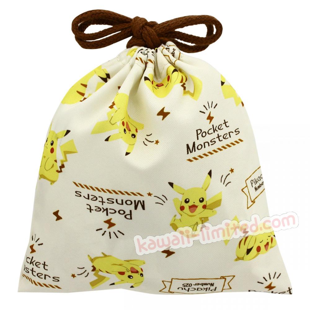 ca9a4d7769d6 Japan Pokemon Drawstring Bag - Pikachu - 1
