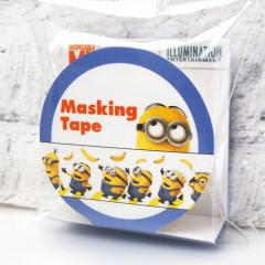 Japan Despicable Me Washi Paper Masking Tape -  Minions & Banana 15mm x 5m