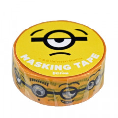 Japan Despicable Me Washi Paper Masking Tape - Minions Face