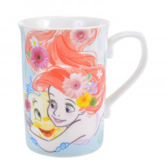 Japan Disney Princess Ceramic Mug - Little Mermaid Ariel