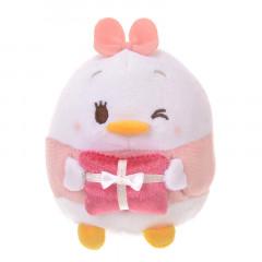 Japan Disney Ufufy Mini Plush - Daisy x Valentines Limited Edition