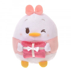 Japan Disney Ufufy Mini Plush - Daisy x Valentines