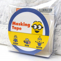 Japan Despicable Me Washi Paper Masking Tape -  Minions Yellow 15mm × 5m