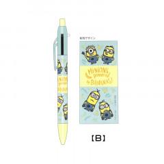 Japan Despicable Me 2 Color Multi Pen & Mechanical Pencil - Minions Powered Bananas