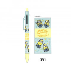 Japan Minions 2 Color Multi Pen & Mechanical Pencil - Powered By Bananas