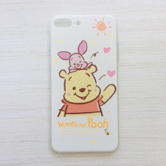 Winnie the Pooh & Piglet Heart Phone Case - iPhone 7 Plus & iPhone 8 Plus
