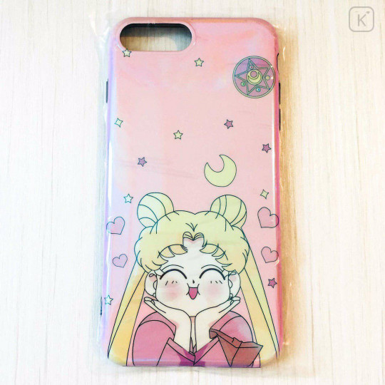 Sailor Moon Happy Pink Holographic Phone Case - iPhone 7 & iPhone 8 - 1