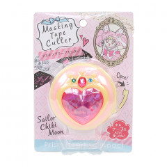 Sailor Chibi Moon Masking Tape Cutter - Crystal Heart Compact