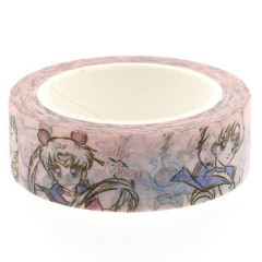 Sailor Moon Japanese Washi Paper Masking Tape - Painting Moon Mars Mercury Jupiter Venus