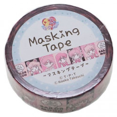 Japan Sailor Moon Washi Paper Masking Tape - Pink Comic