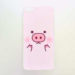 Cute Piggy Face Phone Case - iPhone 7 Plus & iPhone 8 Plus