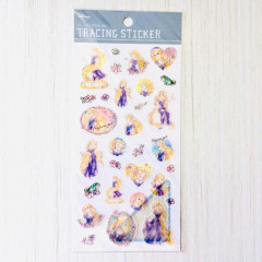 Japan Disney Sticker - Tangled Rapunzel Tracing Sticker