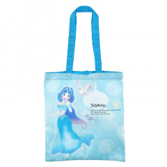 Japan Disney Eco Shopping Bag - Princess Jasmine Blue